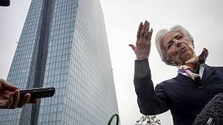 President of European Central Bank Christine Lagarde