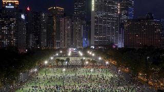 يتحضر البعض في هونغ كونغ للاحتفال بذكرى مجزرة ساحة تيانانمن رغم عدم الحصول على ترخيص رسمي يتيح ذلك