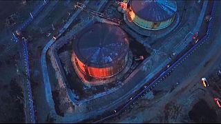 محل نشت سوخت در سیبری