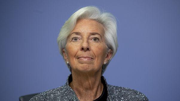 رئيسة البنك المركزي الأوروبي، كريستين لاغارد
