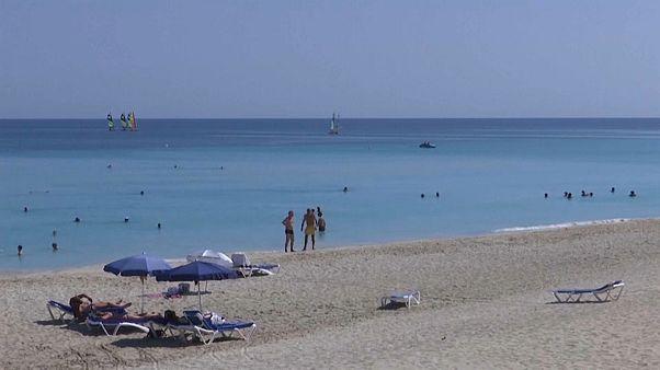 Imagen de una playa cerca del complejo de Bacuranao, en Cuba.
