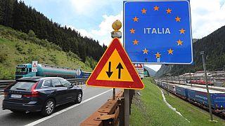 مرز زمینی ایتالیا