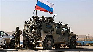 Haseke'de Rus devriyesi/ Arşiv