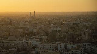 Una vista di Tripoli dall'alto