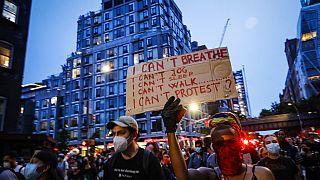 ΗΠΑ: 10η ημέρα διαδηλώσεων για τη δολοφονία Φλόιντ