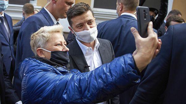 Präsident der Ukraine in Kiew
