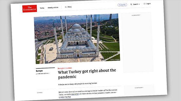 Economist dergisinin Türkiye'nin Covid-19'la mücadele makalesi