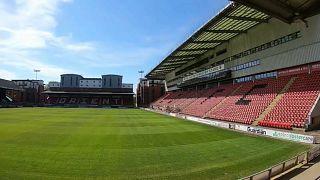 Leyton Orient FC's home ground: Breyer Group Stadium in Brisbane Road, East London