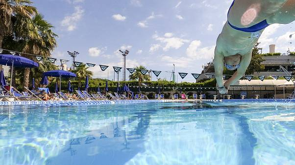 Virus Outbreak Swimming Pool