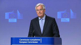 EU-Chefunterhändler Michel Barnier in Brüssel
