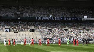 Virus Outbreak Germany Bundesliga