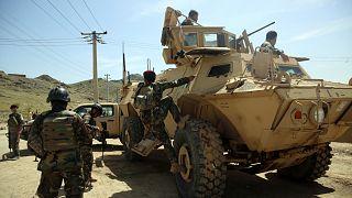 صورة أرشيفية للقوات في أفغانستان