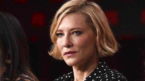 Unfall Mit Der Kettensage Cate Blanchett Am Kopf Verletzt Euronews