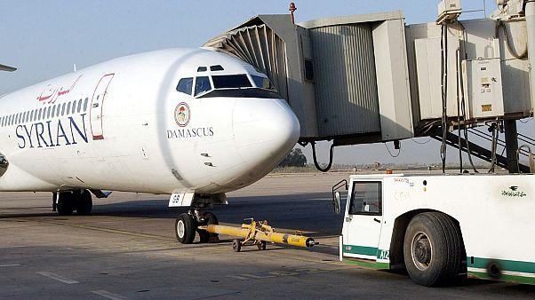 طائرة تابعة للخطوط الجوية السورية