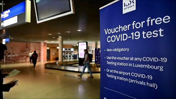 Aeroporto do Luxemburgo - Testes gratuitos Covid-19