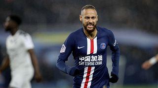 Paris Saint-Germain (PSG) futbolcusu Neymar