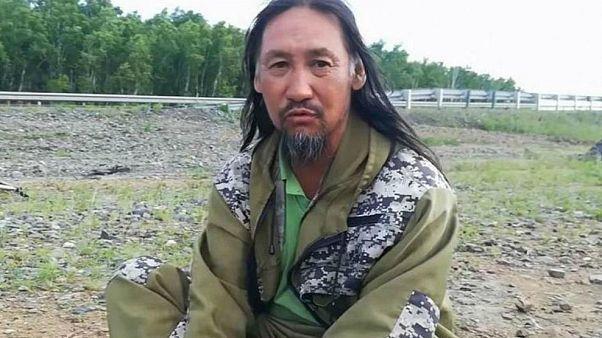 Kendini 'Şaman savaşçı' olarak tanımlayan Aleksandr Gabişev
