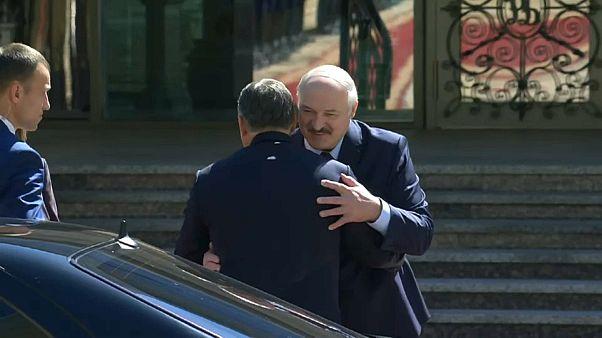 Lukaschenko begrüßt Orbán