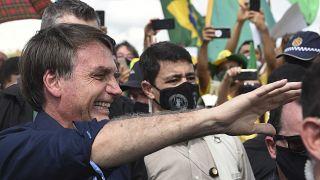 الرئيس البرازيلي خافيير بولسونارو