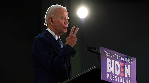 جو بایدن، نامزد انتخابات ریاست جمهوری آمریکا از حزب دموکرات