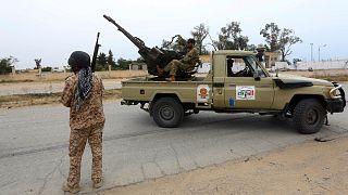 صورة أرشيفية لقوات تابعة لحكومة الوفاق الليبية