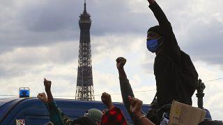 Manifestation à Paris contre le racisme et les violences policières
