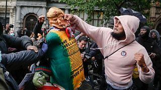 مظاهرات لندن