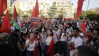 Miles de árabes y judíos, contra el plan de anexión de Cisjordania