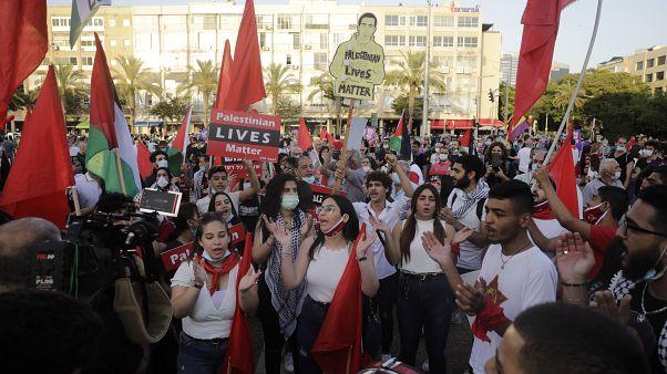 «زندگی فلسطینیها مهم است»؛ هزاران اسرائیلی علیه طرح الحاق کرانه باختری تظاهرات کردند