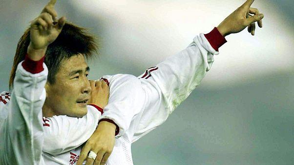 Emekli Çinli futbolcu Hao Haidong
