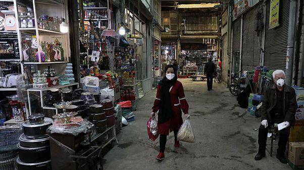 Qazvin old traditional bazaar