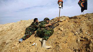 عکس آرشیوی از حضور نیروهای خارجی در جنگ سوریه