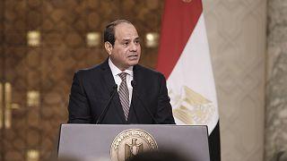Ο πρόεδρος της Αιγύπτου  Αμπντέλ Φάταχ αλ Σίσι