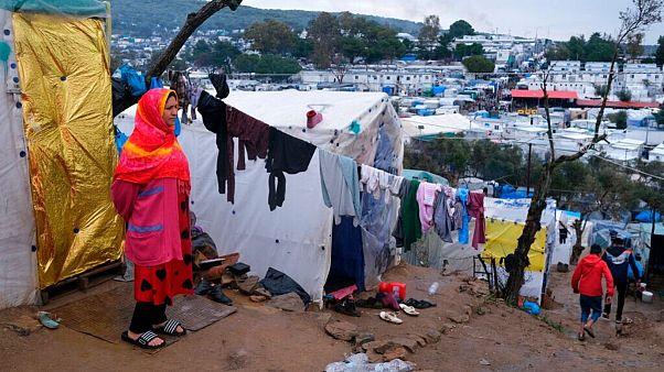 اردوگاه پناهجویان در یونان