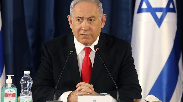 Премьер-министр Израиля на еженедельном заседании правительства