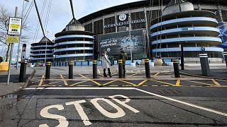 Das Stadion von Manchester City