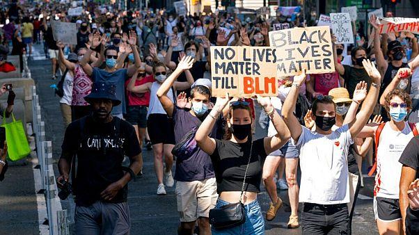 تظاهرات علیه نژادپرستی در نیویورک