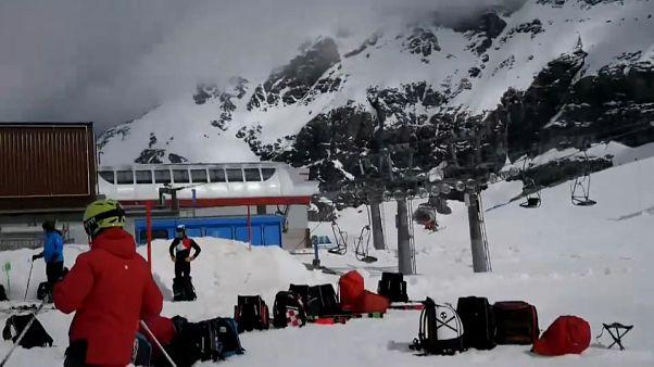 Áustria reabre estâncias de esqui