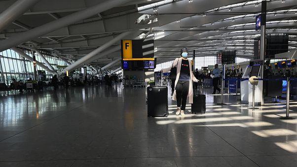 Heathrow Airport Terminal 5, in London