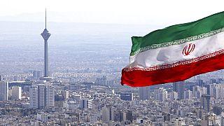 İran'ın başkenti Tahran'dan bir kare.