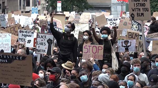 """Black Lives Matter"": Protest in Brüssel"