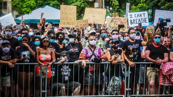 راهپیمایی ضد نژادپرستی