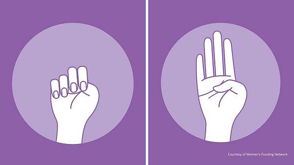 علامت دست برای گزارش خشونت خانگی