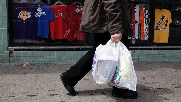 A környezetkáros műanyag szatyor