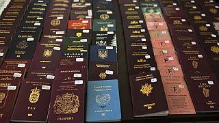 Passport and visa control