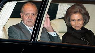 خوان کارلوس پادشاه سابق اسپانیا