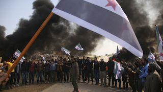 Suriye'nin kuzey batısında saldırı