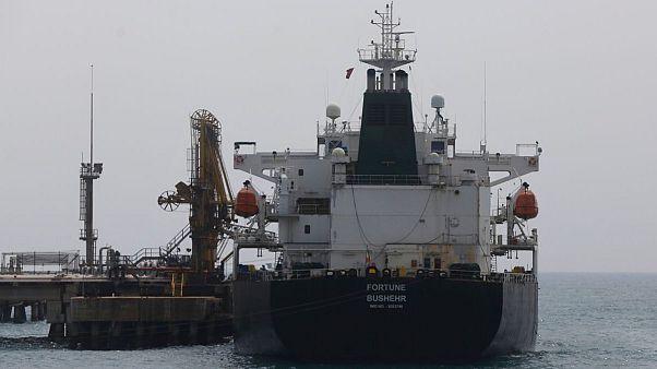 نفتکش ایرانی فورتون بوشهر در ونزوئلا