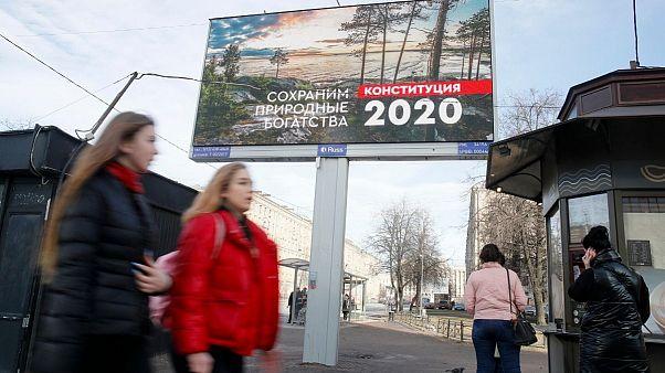 همهپرسی اصلاح قانون اساسی در روسیه