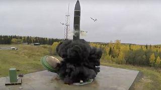 صاروخ باليستي روسي عابر للقارات